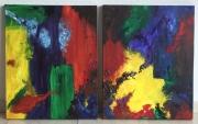 Abstract Tweeluik